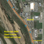 Open 5k Course Map
